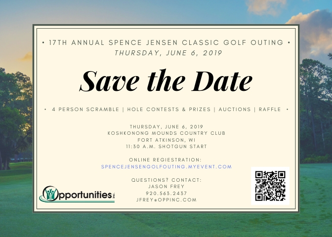 17TH ANNUAL SPENCE JENSEN CLASSIC GOLF OUTING THURSDAY JUNE 6 2019